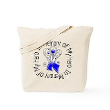 ALS In Memory of My Hero Tote Bag