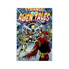"""Strange Alien Tales #1"" Rectangle Magne"