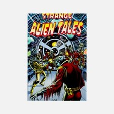 """Strange Alien Tales #1"" Rectangle Magne"
