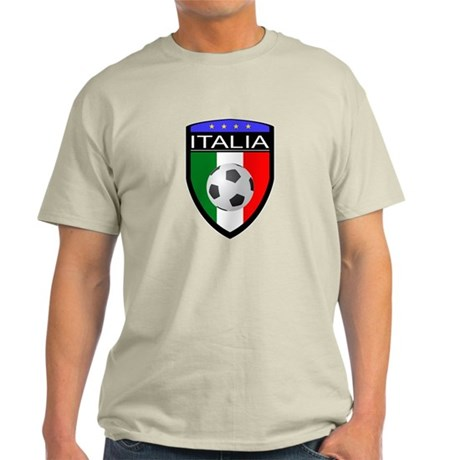 Italia Soccer Patch Light T-Shirt