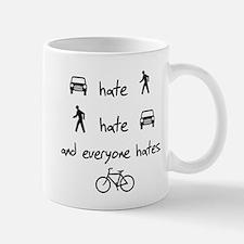 Cars Pedestrians Bikes Share Mug