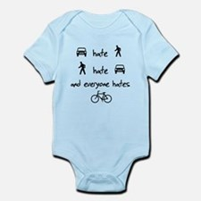 Cars Pedestrians Bikes Share Infant Bodysuit