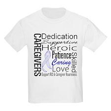 ALS Caregivers Collage T-Shirt