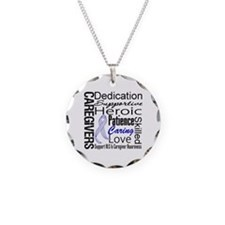 ALS Caregivers Collage Necklace