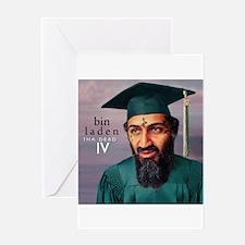 Unique Osama dead Greeting Card
