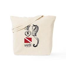 Cute Padi Tote Bag
