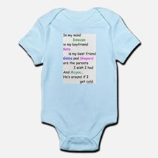 Dinozzo Boyfriend Kate Infant Bodysuit