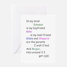 Dinozzo Boyfriend Kate Greeting Card