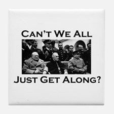 Get Along - Tile Coaster