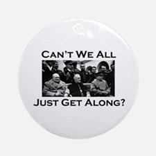Get Along - Ornament (Round)