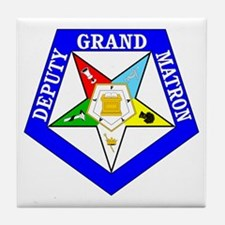 Deputy Grand Matron Tile Coaster