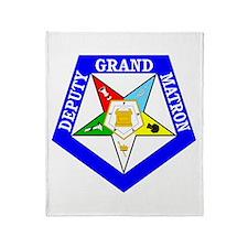 Deputy Grand Matron Throw Blanket
