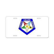 Deputy Grand Matron Aluminum License Plate