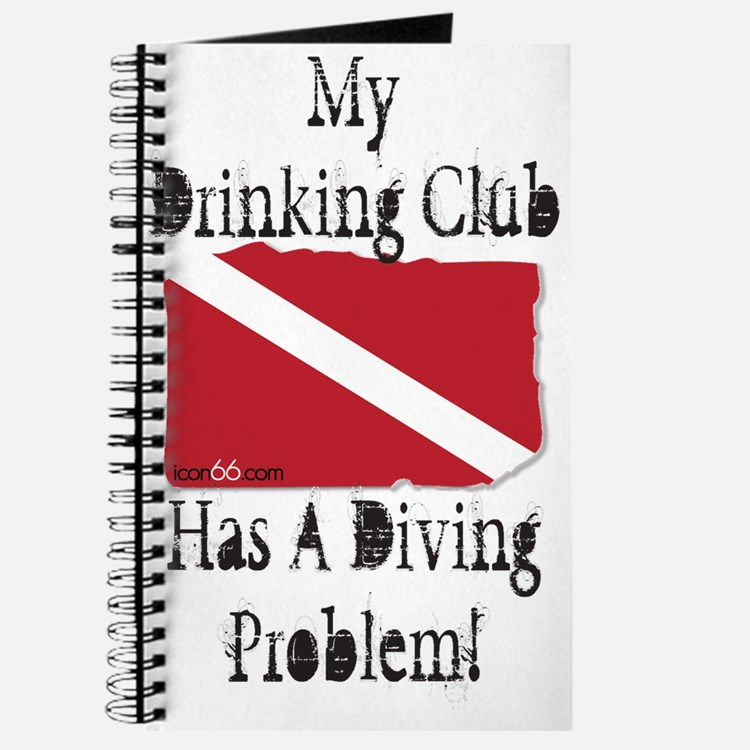 Cute Drink and dive Journal