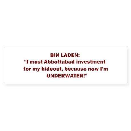 Abbottabad Inv! Sticker (Bumper)