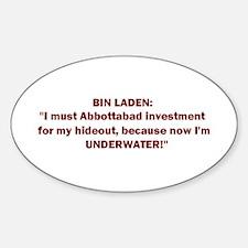 Abbottabad Inv! Sticker (Oval)
