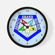 Deputy Grand Matron Wall Clock