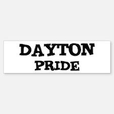 Dayton Pride Bumper Bumper Bumper Sticker