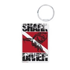 Cute Dive flag Keychains