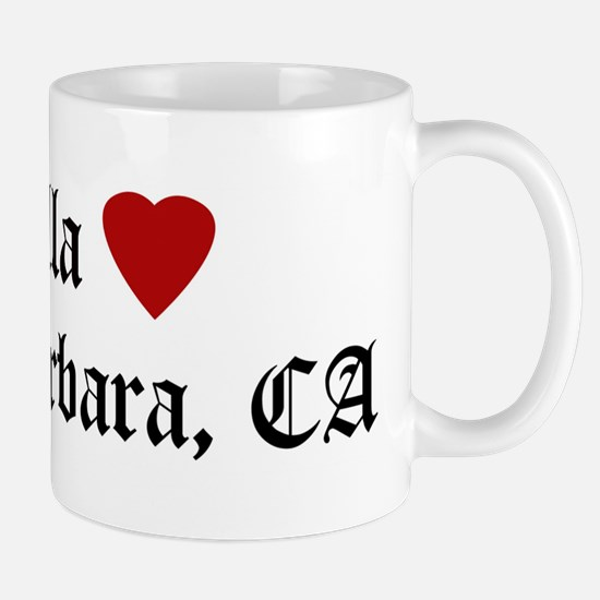 Hella Love Santa Barbara Mug