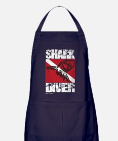 Cute Dive flag Apron (dark)