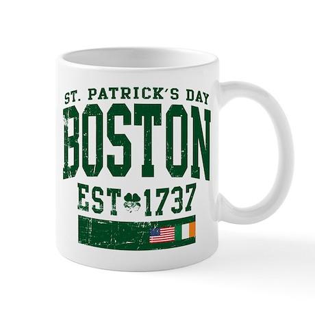 St. Patrick's Day Boston Mug