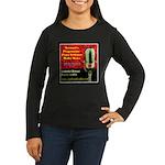 GDPR Women's Long Sleeve Dark T-Shirt