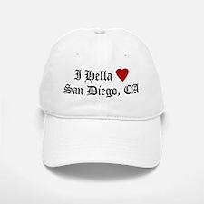 Hella Love San Diego Baseball Baseball Cap