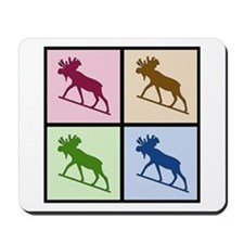 Moose (4 color) Mousepad