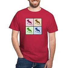 Moose (4 color) T-Shirt
