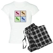 Moose (4 color) Pajamas