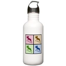 Moose (4 color) Water Bottle