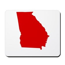 Red Georgia Mousepad