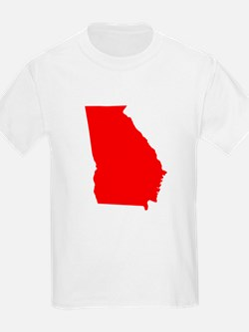 Red Georgia T-Shirt