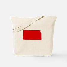 Red Kansas Tote Bag