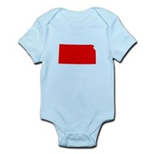 Red Kansas Infant Bodysuit
