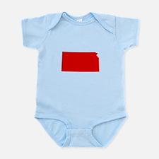 Red Kansas Infant Bodysuit