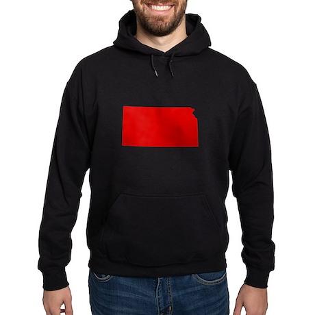 Red Kansas Hoodie (dark)