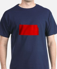 Red Kansas T-Shirt