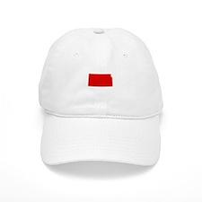Red Kansas Baseball Cap
