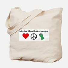 Mental illness Tote Bag
