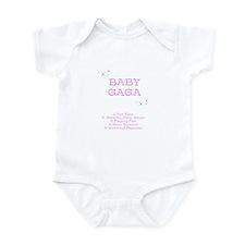 Baby Gaga Album Onesie