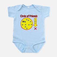 CIRCLE OF FRIENDS Infant Bodysuit