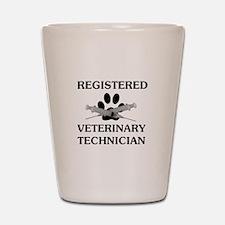 Registered Veterinary Tech Shot Glass