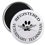 Registered Veterinary Tech Magnet