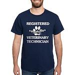 Registered Veterinary Tech Dark T-Shirt