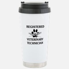 Registered Veterinary Tech Stainless Steel Travel