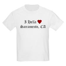 Hella Love Sacramento Kids T-Shirt