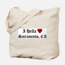 Hella Love Sacramento Tote Bag