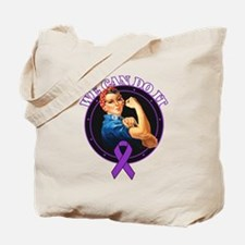 Epilepsy We Can Do It Tote Bag